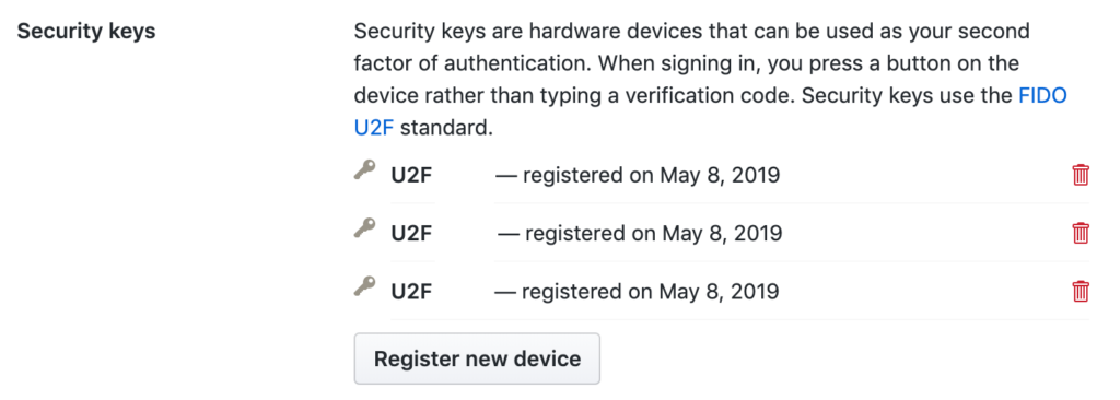 State of U2F in May 2019 | Jason Klein