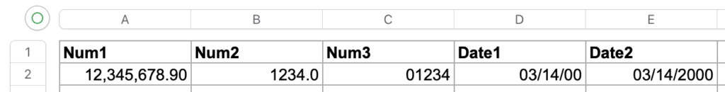 php box/spout format numbers dates
